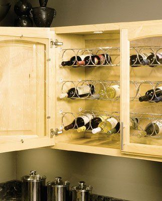 Best Wine Rack KV FEWR 2362 FN Horizontal Wine Rack 5