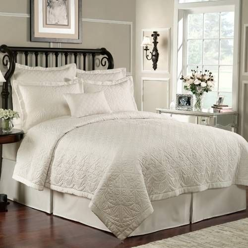 Waterford Lismore Ivory Bedding | Bedding | Pinterest | Ivory ... : ivory quilts - Adamdwight.com