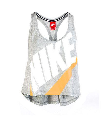 Nike Signal Tank Logo