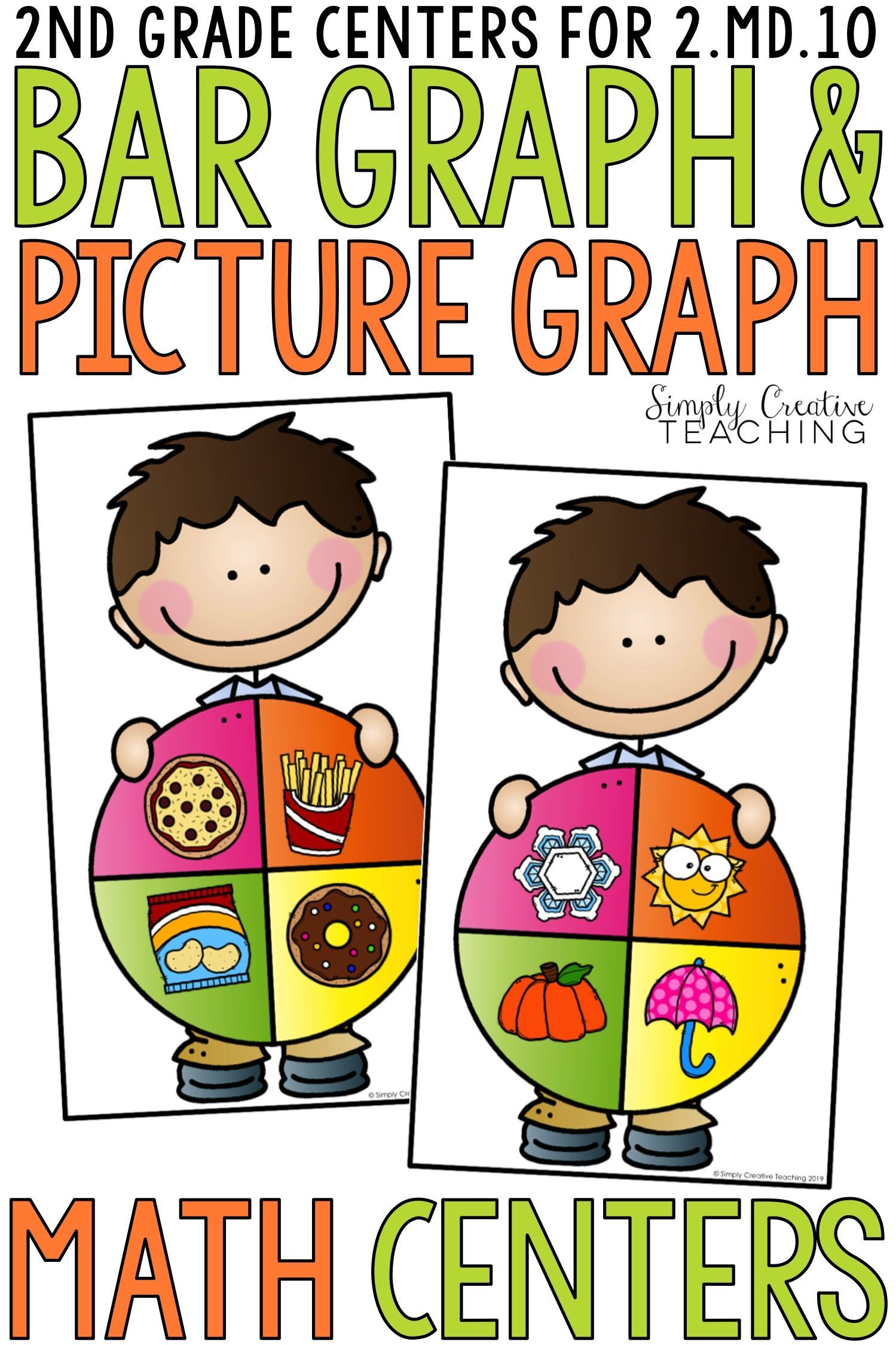 2nd Grade Bar Graphs Amp Picture Graphs Centers For 2 10