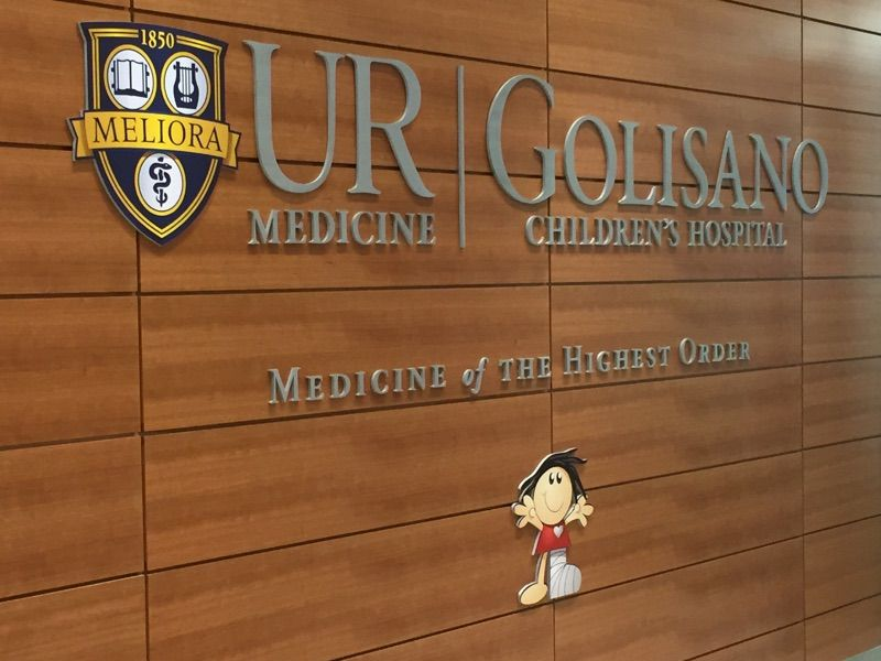 Golisano childrens hospital in rochester ny childrens