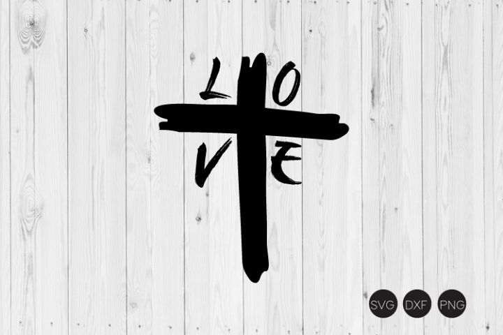 Download Love Cross Distressed SVG (With images)   Svg, Distressed ...