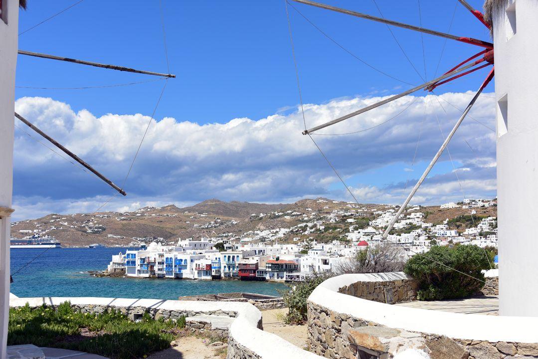 Dream in colours never seen before. #Mykonos #Greece #WorldInColour