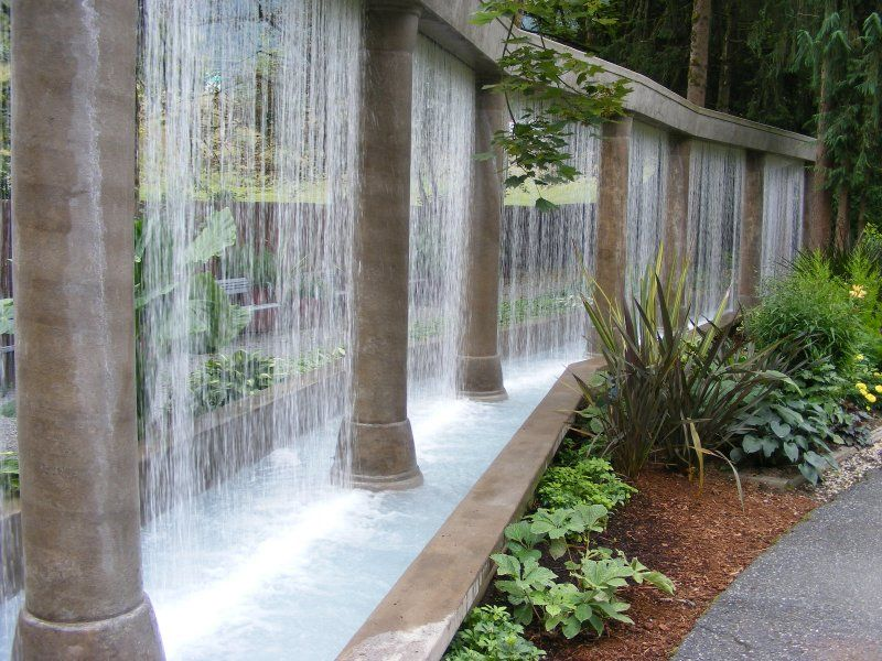 awesome i want water curtain water