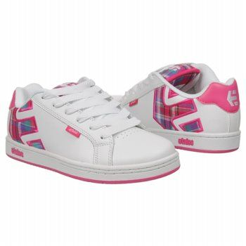 Etnies Fader Shoes (PinkPinkWhite) Women's Shoes 6.0 M