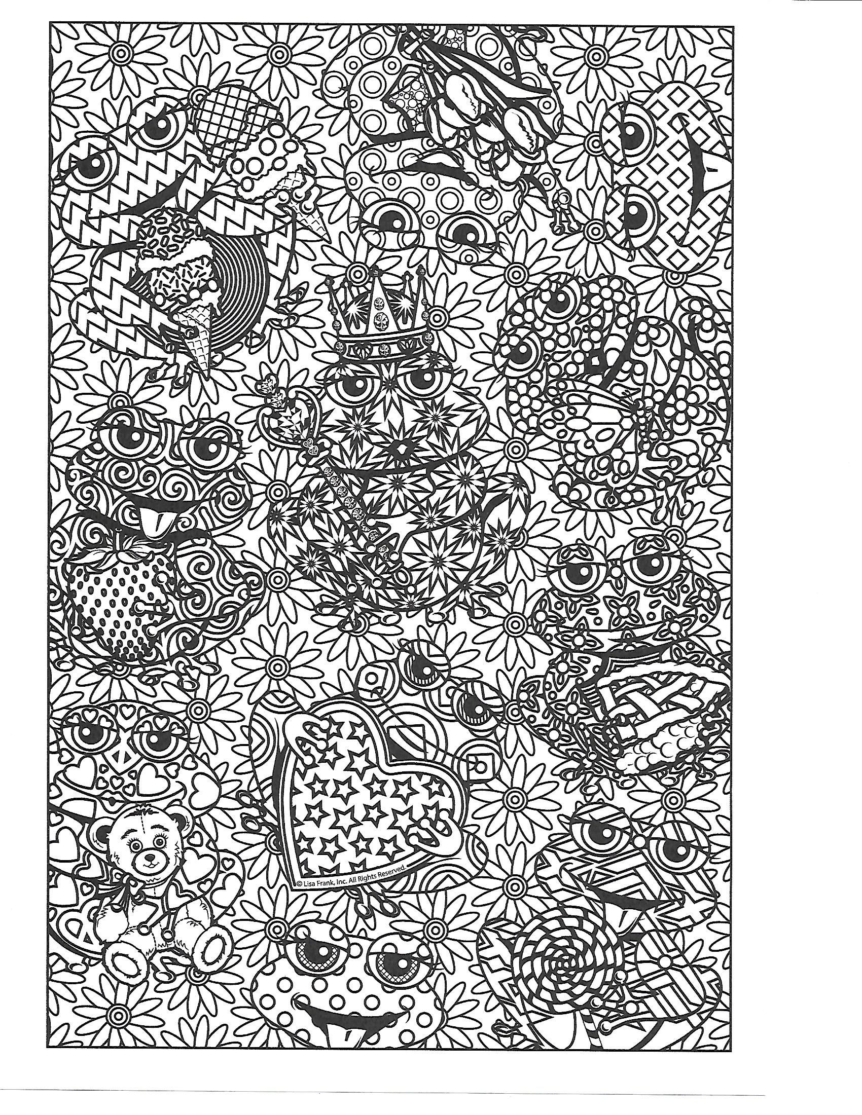 Pin By Beth Conroy On Color Animals Lisa Frank Coloring Books Colouring Pages Coloring Pictures [ 2200 x 1700 Pixel ]