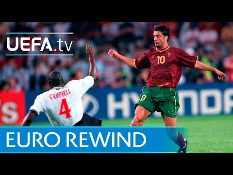 Euro 2000 Highlights Portugal 3 2 England Youtube In 2020 Portugal Soccer Euro England