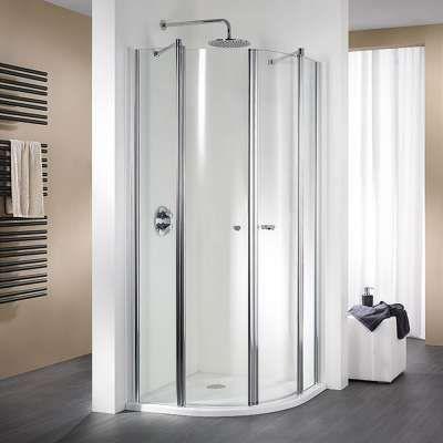 HSK Runddusche Exklusiv Halbkreis Drehfalttür Bathroom
