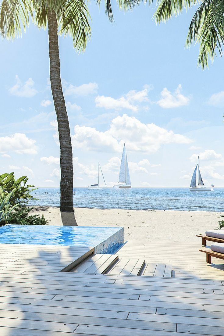 The perfect view. Coming to Placencia, Belize in 2016. It's Itz'ana.