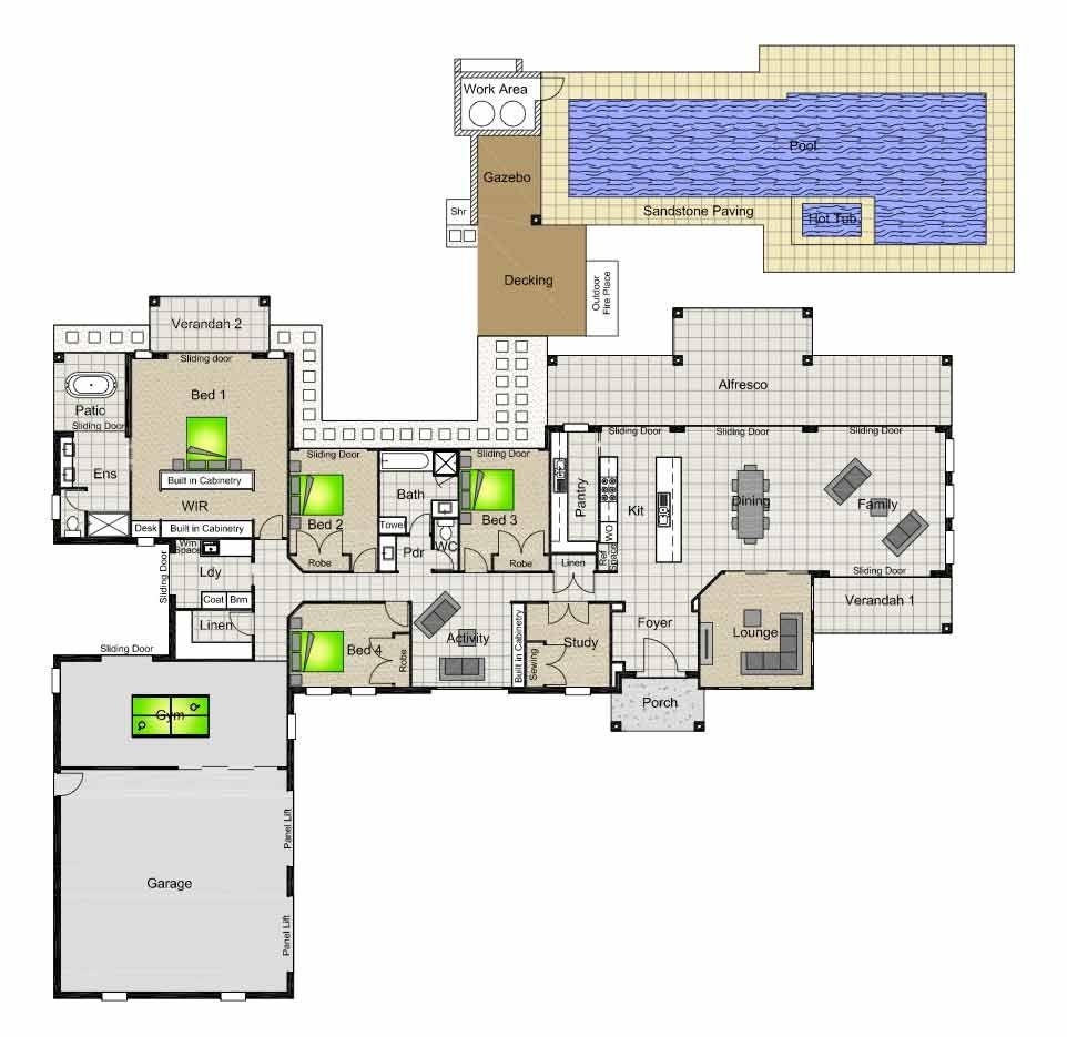 Montego 450 Country Retreat Pinterest House Plans
