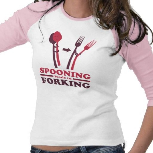 Spooning Leads to Forking Love Romance Tees (With images) | Rose t shirt, Tshirt designs, Shirt ...