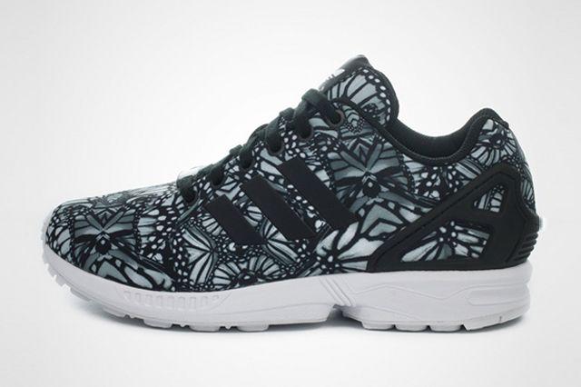 adidas originali zx flusso (farfalla), scarpe da ginnastica sgorbio.