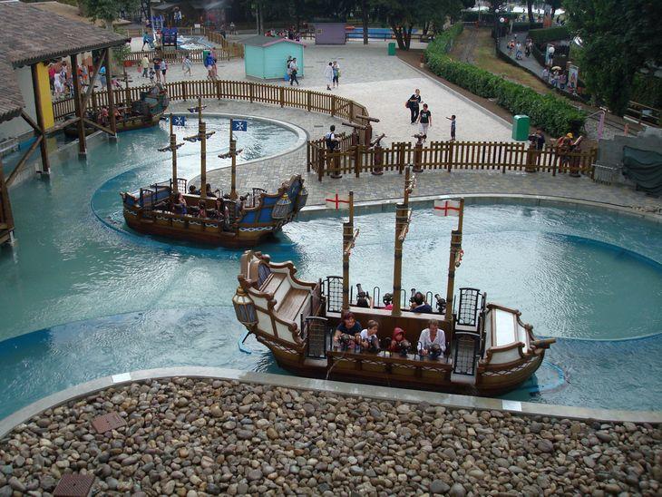 Water Fight Amusement Waterride Zamperla Themed