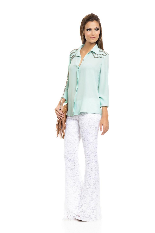 Calça Renda Branca - roupas-calcas-calca-renda-branca Iorane