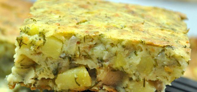 Hem Kek Hem de Börek  :)  Çok lezzetli olan bu tarifimizi mutlaka denemenizi tavsiye ederiz..  #patates #börek #kek  http://www.yemekhaberleri.com/patatesli-kek/