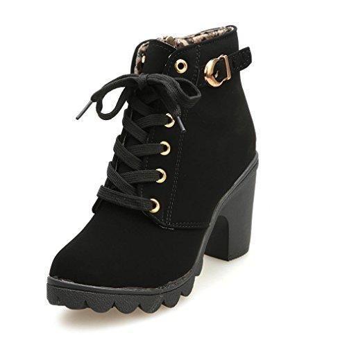 Comprar Ofertas de Botas de Tacón,Culater Mujer Zapatos Altos