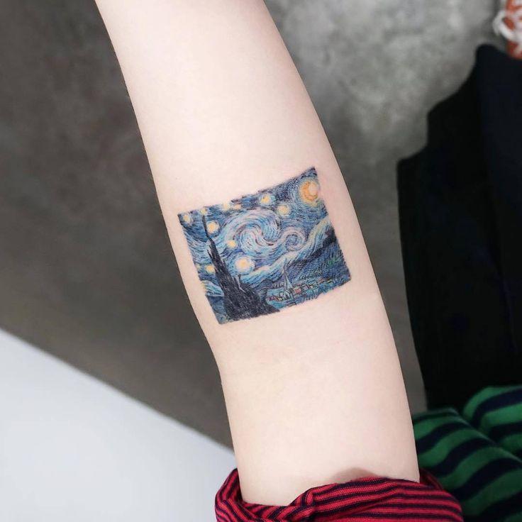 1000+ ideas about Starry Night Tattoo on Pinterest | Night tattoo ...