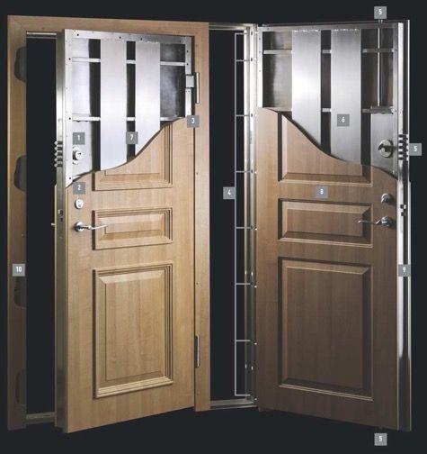 Picture Security Door Safe Room Doors Residential Entry Doors