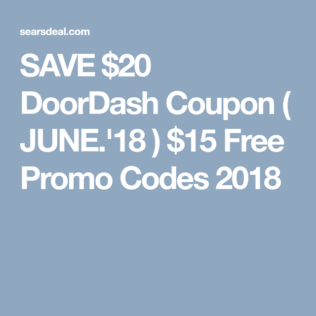 100 Reddit Doordash Promo Codes Jan 2020 Cyber Monday Sale In 2020 Free Promo Codes Promo Codes Doordash