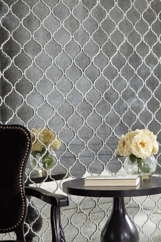 antique mirror arabesque glass mosaic mosaic glass on floor and decor id=85469