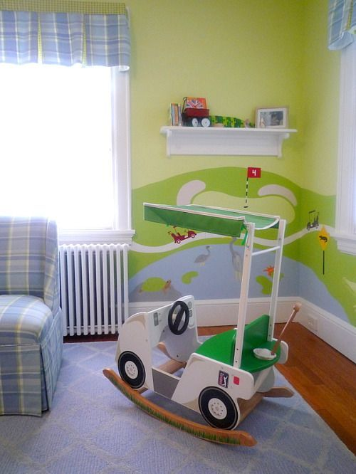Golf Inspired Nursery
