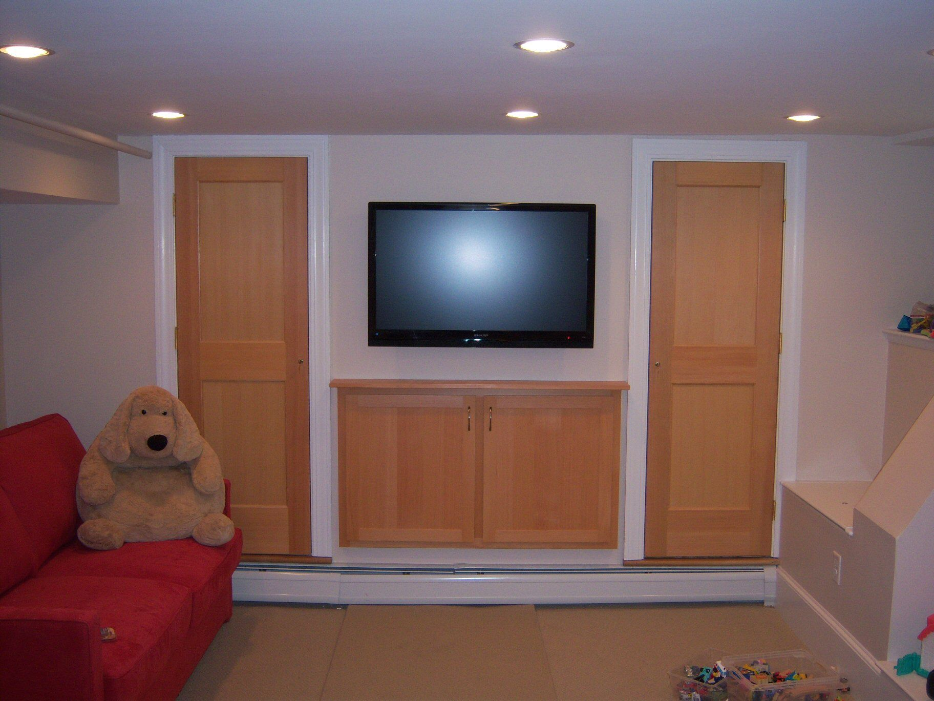 Egress window decor  bedroom tv room  design ideas   pinterest  basements