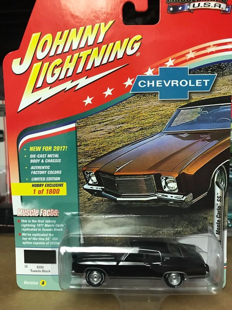 1 64 Johnny Lightning Muscle Cars Usa 2017 1971 Chevy Monte Carlo