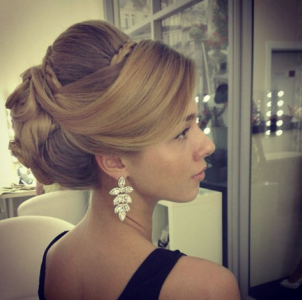 30 Latest Wedding Hairstyles for Inspiration | thought I wanted a bun but that swoop.