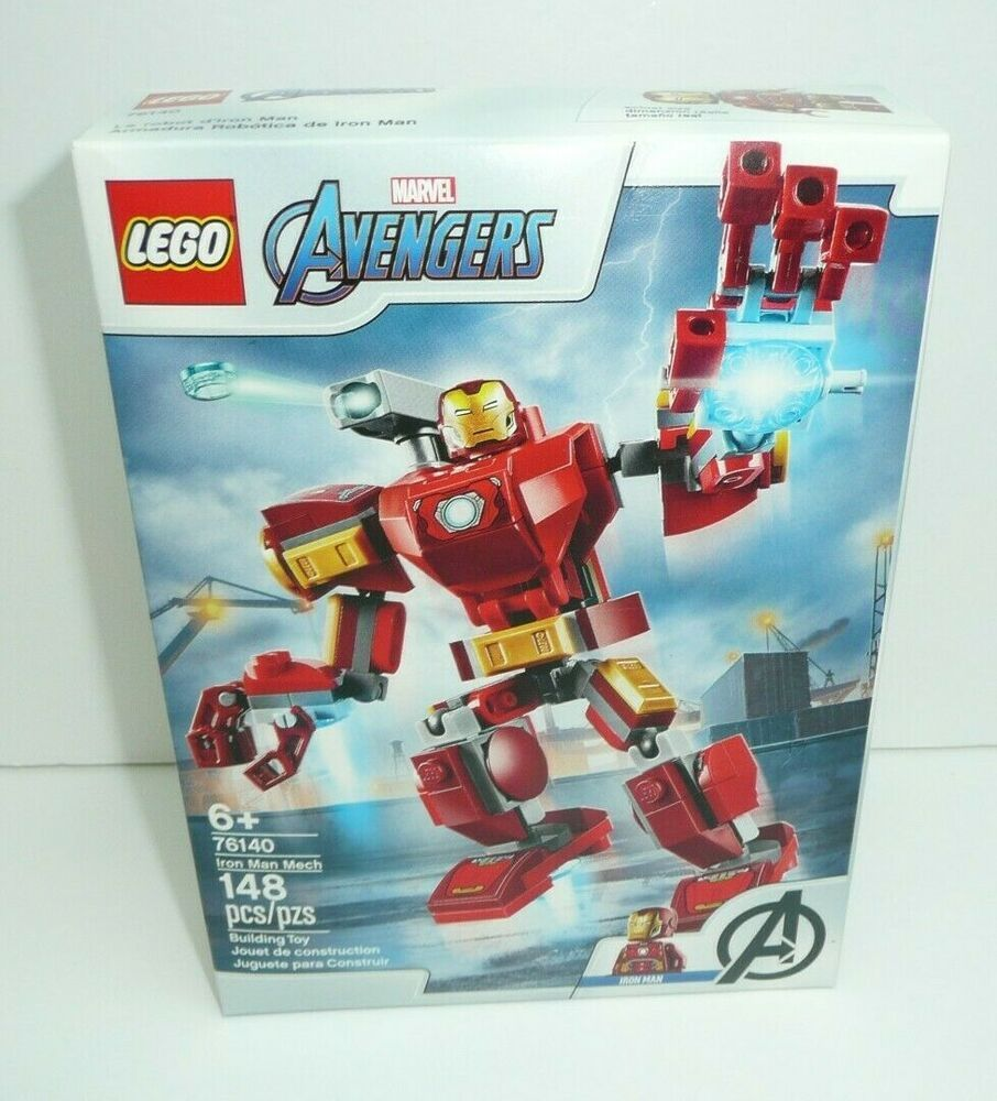 Lego Marvel Avengers Iron Man Mech Infinity War EndGame