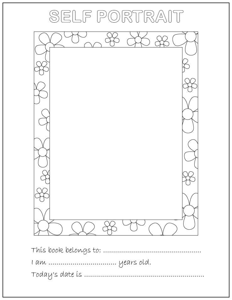 All About Me Coloring Pages all about me 2jpg blue grass