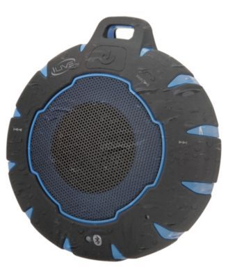 Ilive Waterproof Sandproof Shockproof Bluetooth Speaker With