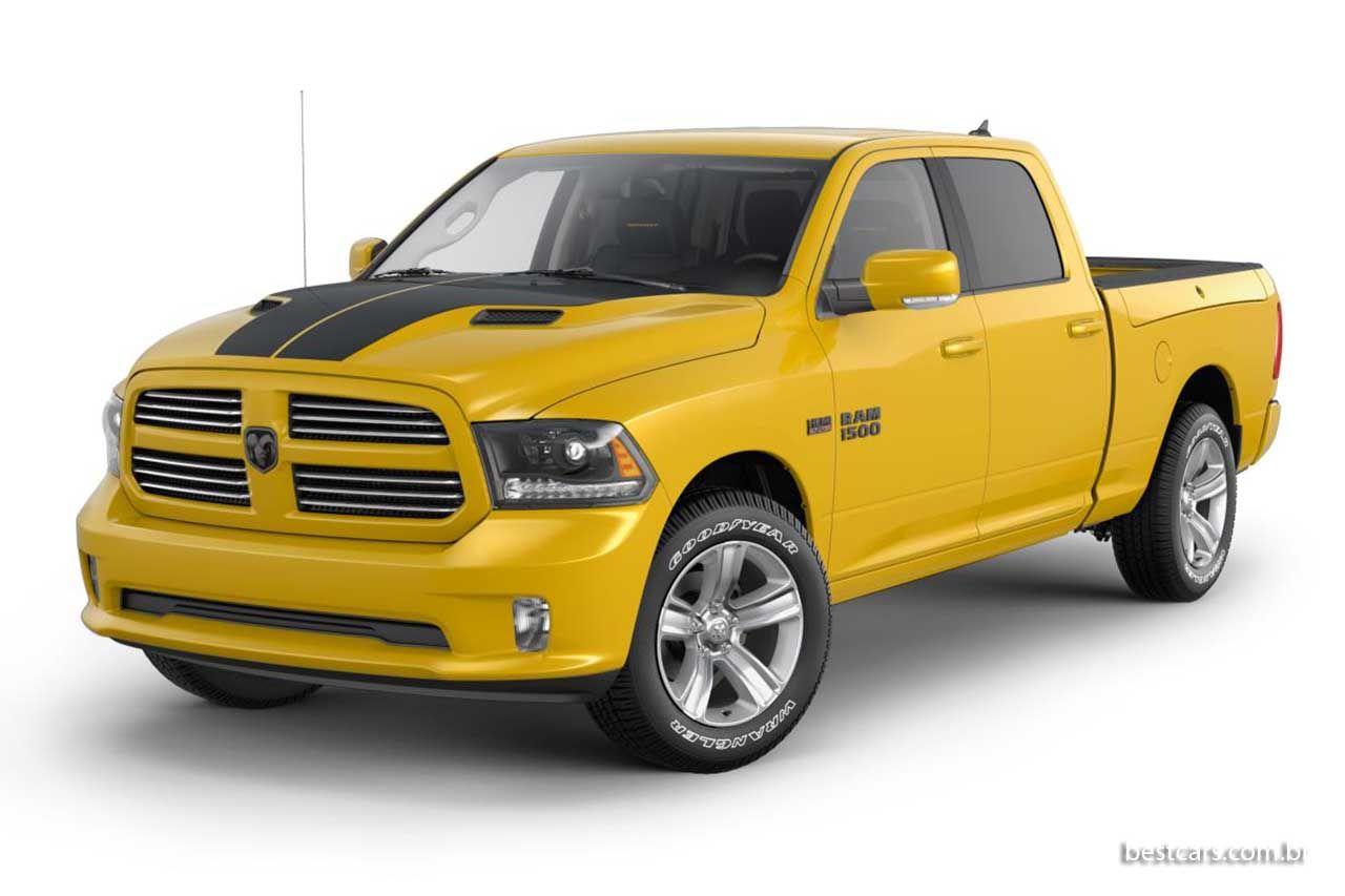 Ram 1500 Ganha Edicao Stinger Yellow Sport Carros E Motos Louco Por Carros E Carros