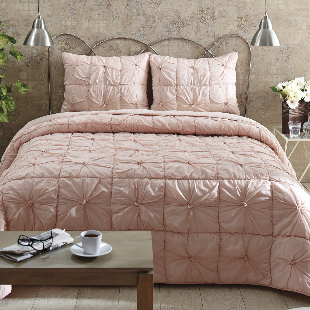 roxy vera bed medium teen secret girl victorias set beds bedding pink gold twin comforter in coral sets blush tumblr bag bradley size and billabong seventeen of target a jcpenney