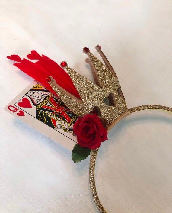 queen of hearts crown alice in wonderland halloween