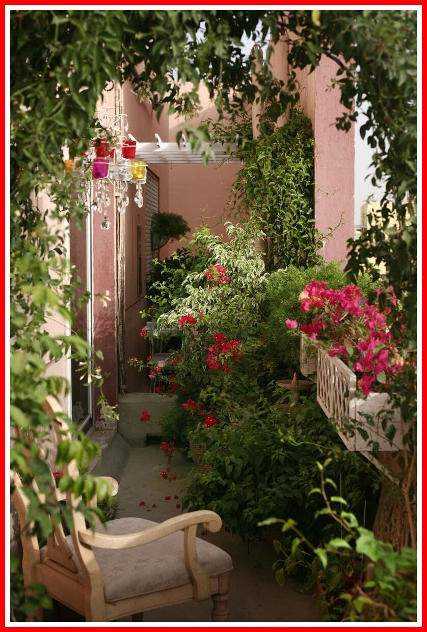 61 Reference Of Balcony Outdoor Beginner In 2020 Flower Garden Design Small Balcony Garden Beautiful Flowers Garden