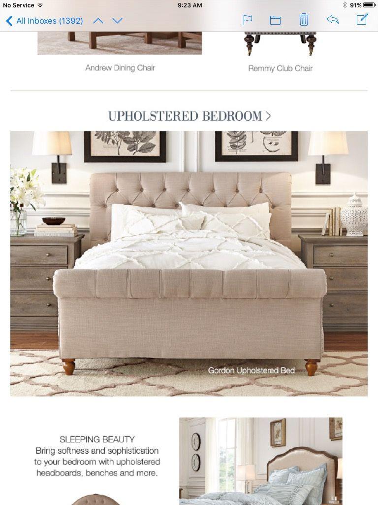 Home Decorators Collection Gorden Sleigh Bedroom Set King Sleigh Bed Upholstered Sleigh Bed