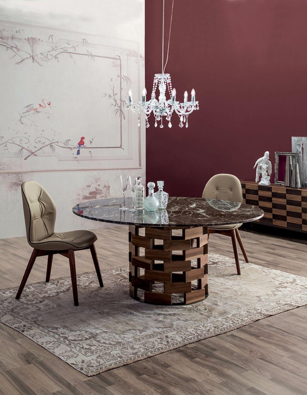 Colosseo Tonin Casa Design: Nicola Tonin Eine Holzbasis aus Nussbaum ...