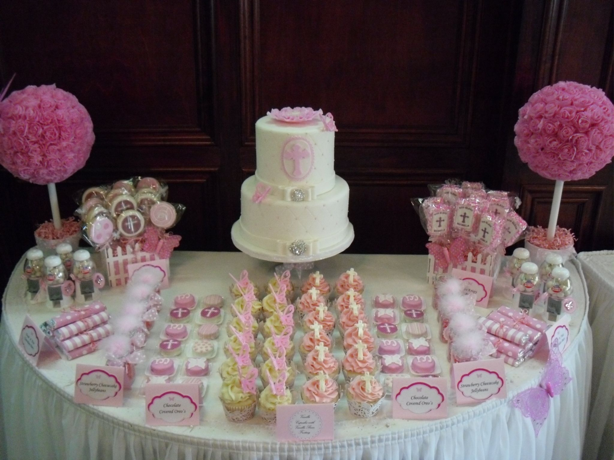 Sweet Table Holy Communion Party Communion Cakes First Communion Party