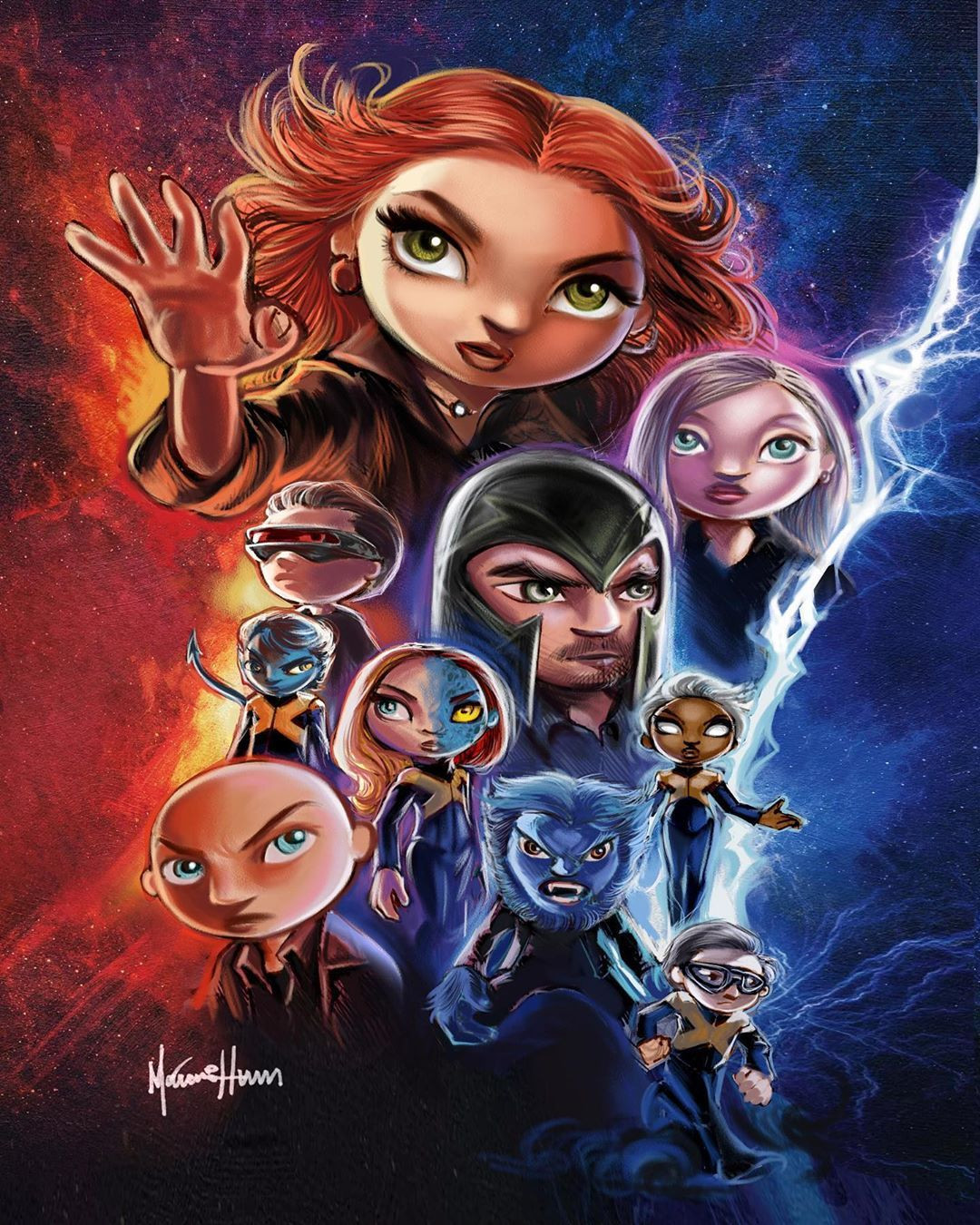 X Men On Instagram X Men Dark Phoenix Phoenix Mystique Storm Nightcrawler Cyclops Quicksilver Beast Professor X Ma Nightcrawler Dark Phoenix X Men