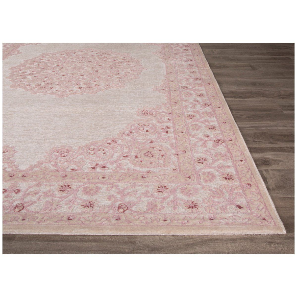 Jaipur Fables Malo Rug Products Rugs Pink Rug White