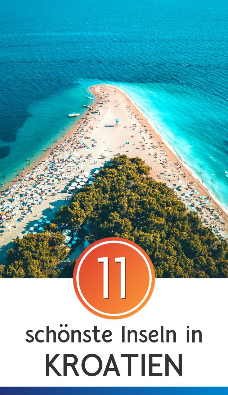 Kroatische Inseln: das sind die 11 schönsten Urlaubsinseln #favoriteplaces