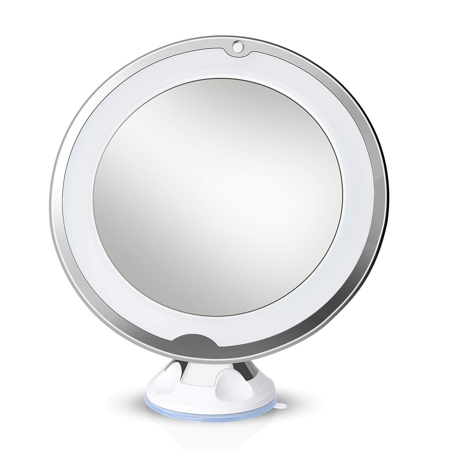 Lirex Lighted Magnifying Mirror 10x Led Makeup Mirror Shaving Mirror With Light Flexible Su Led Makeup Mirror Mirrored Bathroom Accessories Mirror With Lights