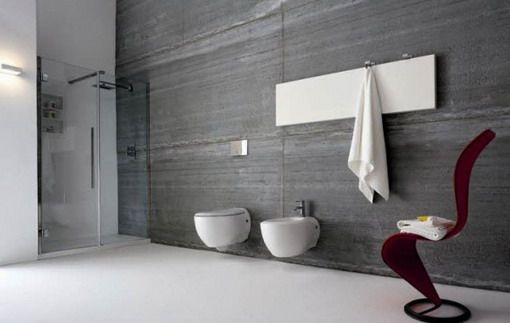 Alternative Feature Grey Wall Tiles  Bathroom Ideas  Pinterest Inspiration Modern Grey Bathroom Designs Design Inspiration