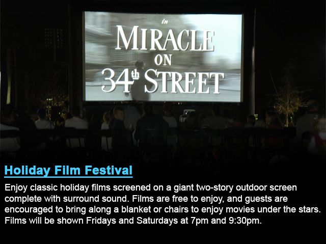 Film Festivals (With images)   Movies under the stars, Miracle on 34th street, Classic holiday