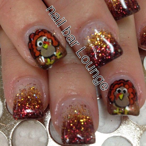 Thanksgiving Turkey Nails Thanksgivingnailart Thanksgivingnails