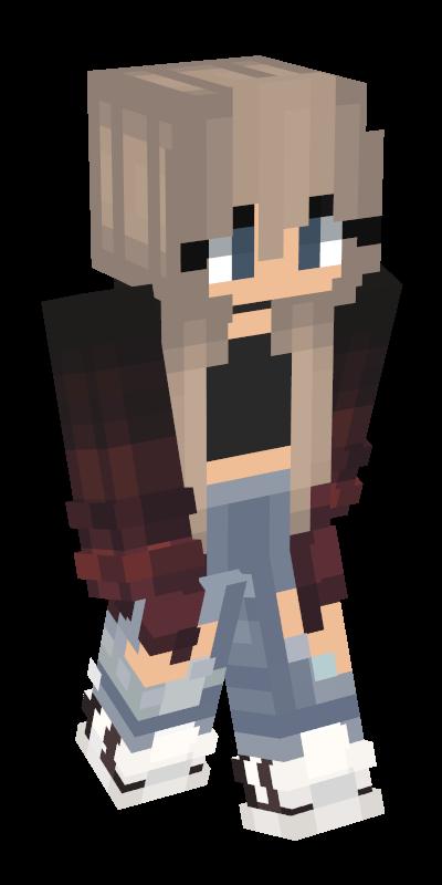 minecraft girl skins