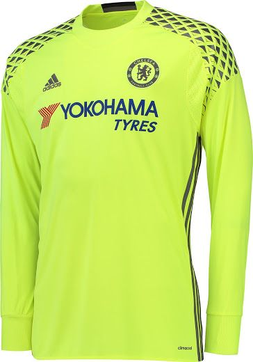 Chelsea 16-17 Goalkeeper Kit Jersey  a England  4f19486f4
