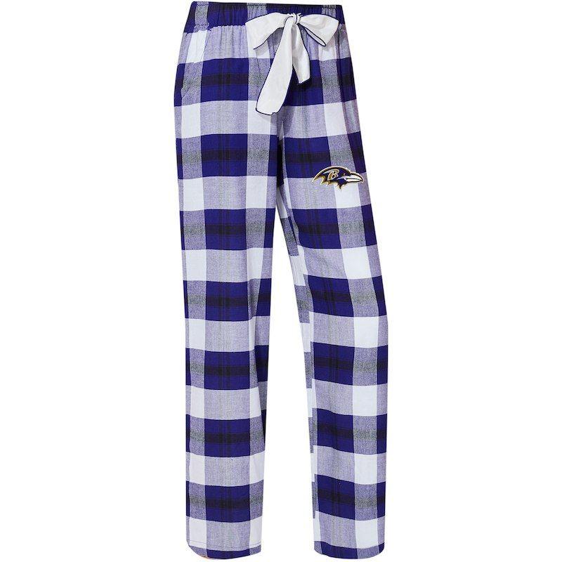 1b3bdb4f Baltimore Ravens Concepts Sport Women's Headway Plaid Pants - Purple ...