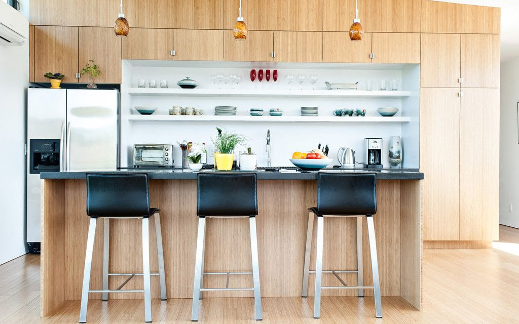an extreme kayaker s modern habitat wsj home front kitchen remodel bamboo cabinets dream on zink outdoor kitchen id=23444