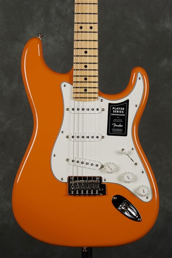 Fender Player Series Stratocaster - MN - Capri Orange